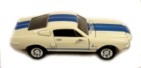 1968 Ford Mustang Shelby Cobra GT 500 KR 428 1:24 Scale