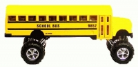School Bus 4 x 4 Large