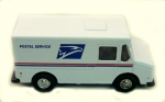 United State Postal Dilivery Truck 4.5 inchs