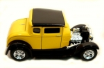 1929 Ford Model A Coupe Hot Rod 1:24 Scale