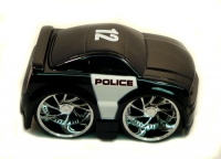 "2006 Ford Mustang GT Police Car 3.5"" Toon Garage"